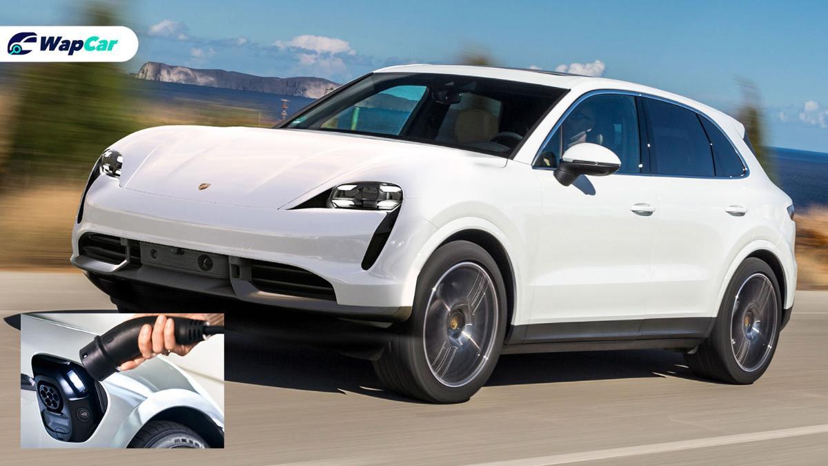 The next Porsche Macan is all-electric, based on Porsche Taycan platform 01