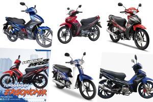 Keperluan vs gaya, ini 7 motosikal kapcai harga 'bajet' untuk rakyat jelata