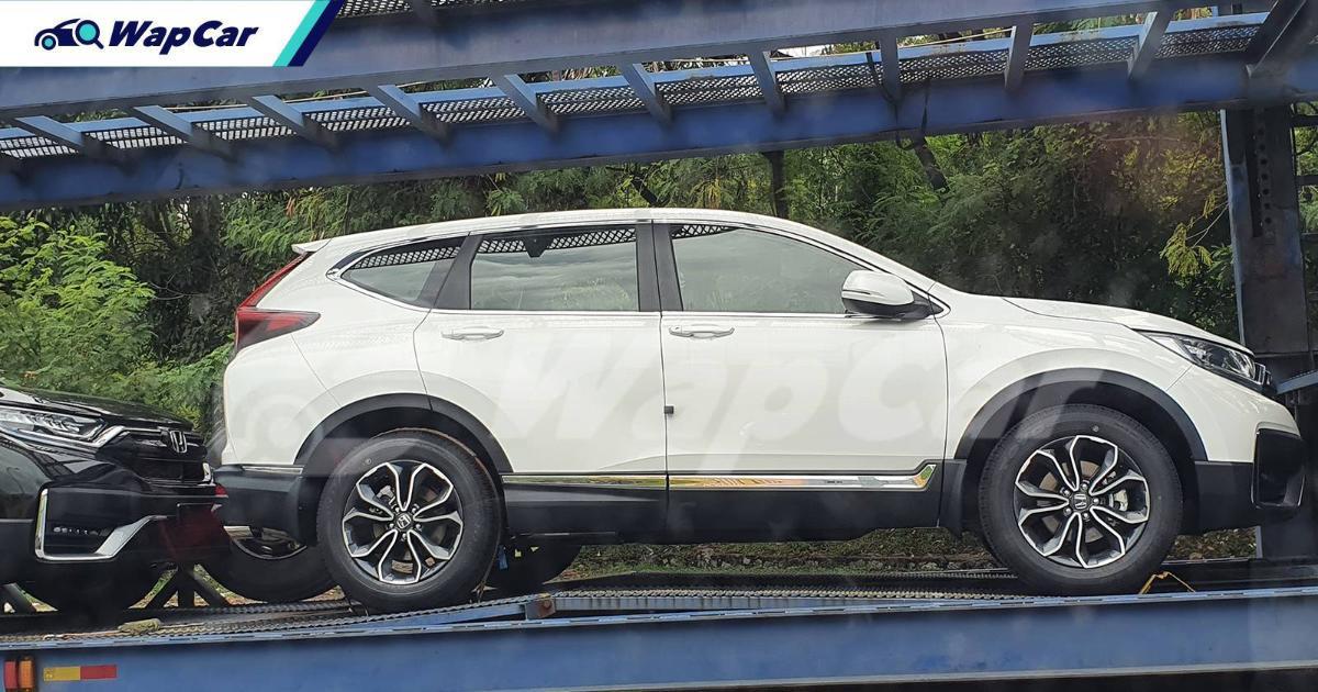 Intipan: Honda CR-V 2021 'facelift', nak sampai bilik pameran dah! 01