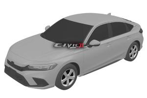 Leaked: Next-gen 2022 Honda Civic leaked via patent images