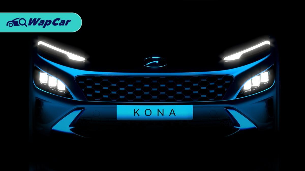 2021 Hyundai Kona facelift teased! New sport-car like bonnet 01
