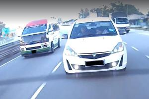 Watch: Proton Exora driver's awesome, but wrongly used, lane change skill
