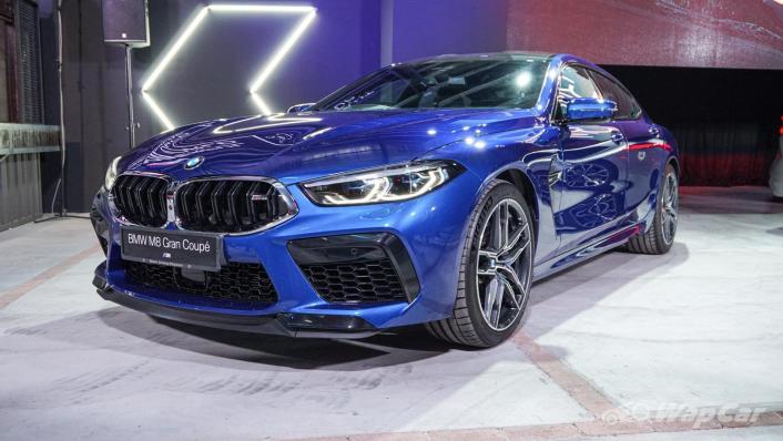 2020 BMW M850i xDrive Gran Coupe Exterior 001