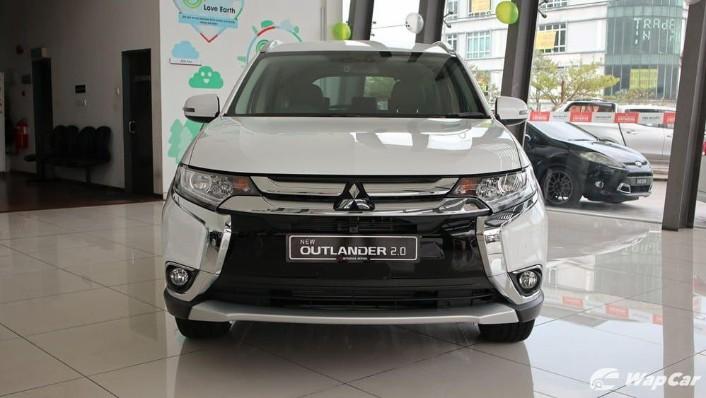 2018 Mitsubishi Outlander 2.0 CVT (CKD) Exterior 004