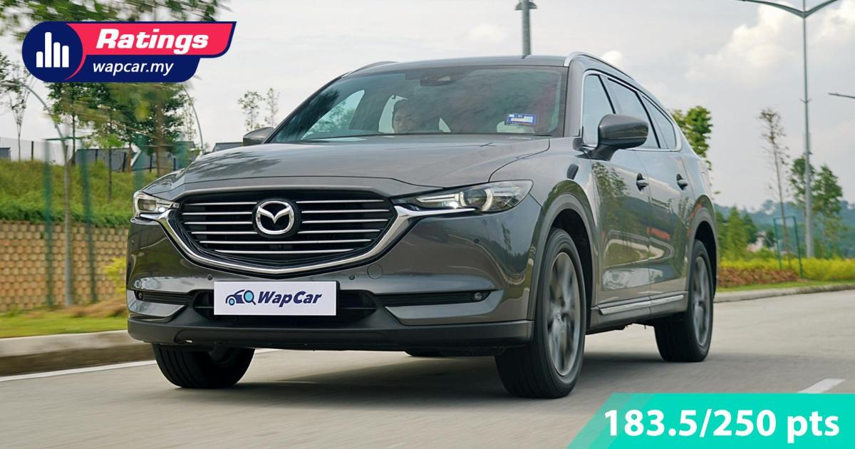 Ratings: 2019 Mazda CX-8 2.2D High - A 6-seater SUV with negligible weaknesses 01