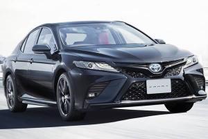 2020 Toyota Camry WS Black Edition celebrates the sedan's 40th anniversary