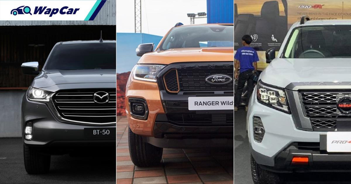 These pick-ups are launching in Malaysia in 2021! BT-50, Ranger, Navara 01