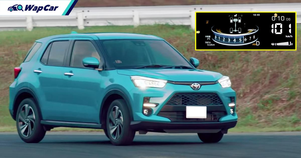 The Perodua Ativa's (D55L) 0-100 km/h time is almost as fast as the Proton X50 Flagship...how? 01