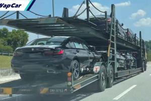 Spyshots: BMW 330Li atas treler, pelancaran 3 Series 'lebih panjang' dalam masa terdekat?