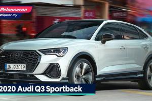 Audi Q3 Sportback 2020 dilancarkan di Malaysia - 180 PS, 320 Nm, RM 300k