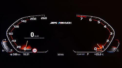 2019 BMW Z4 sDrive30i M Sport Interior 007