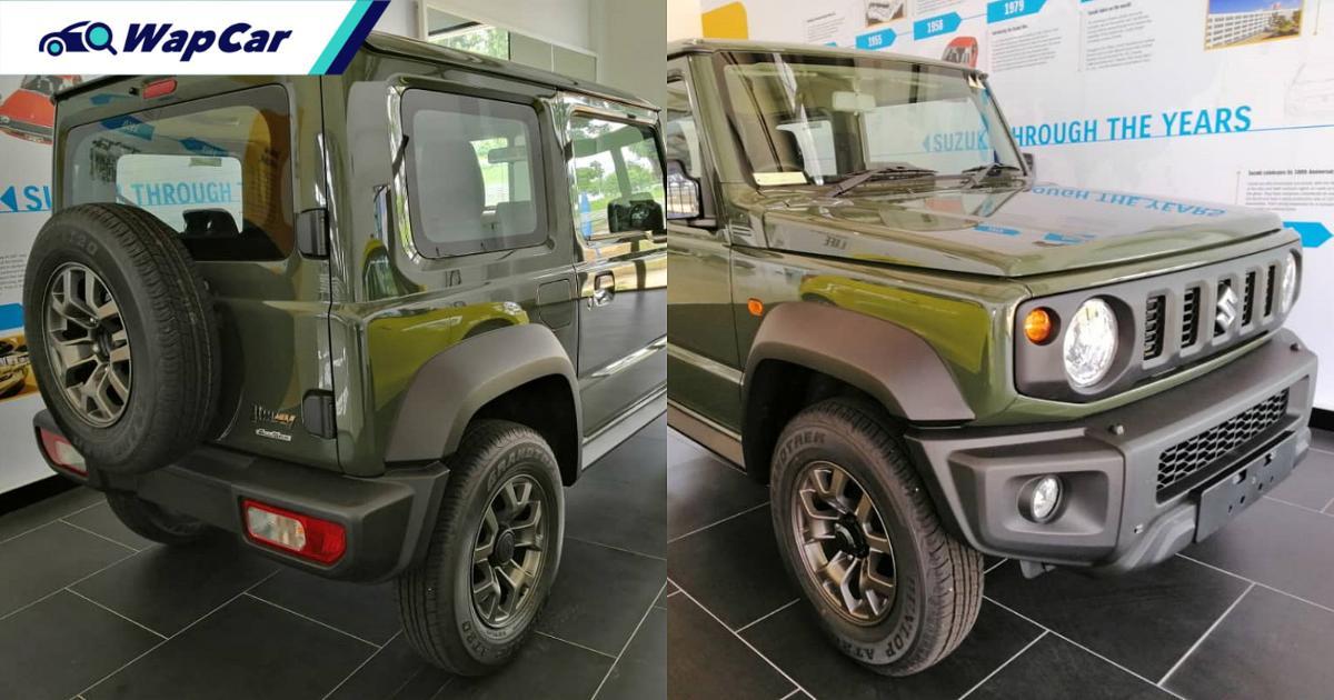 2021 Suzuki Jimny spotted at Naza, launch in Malaysia imminent 01