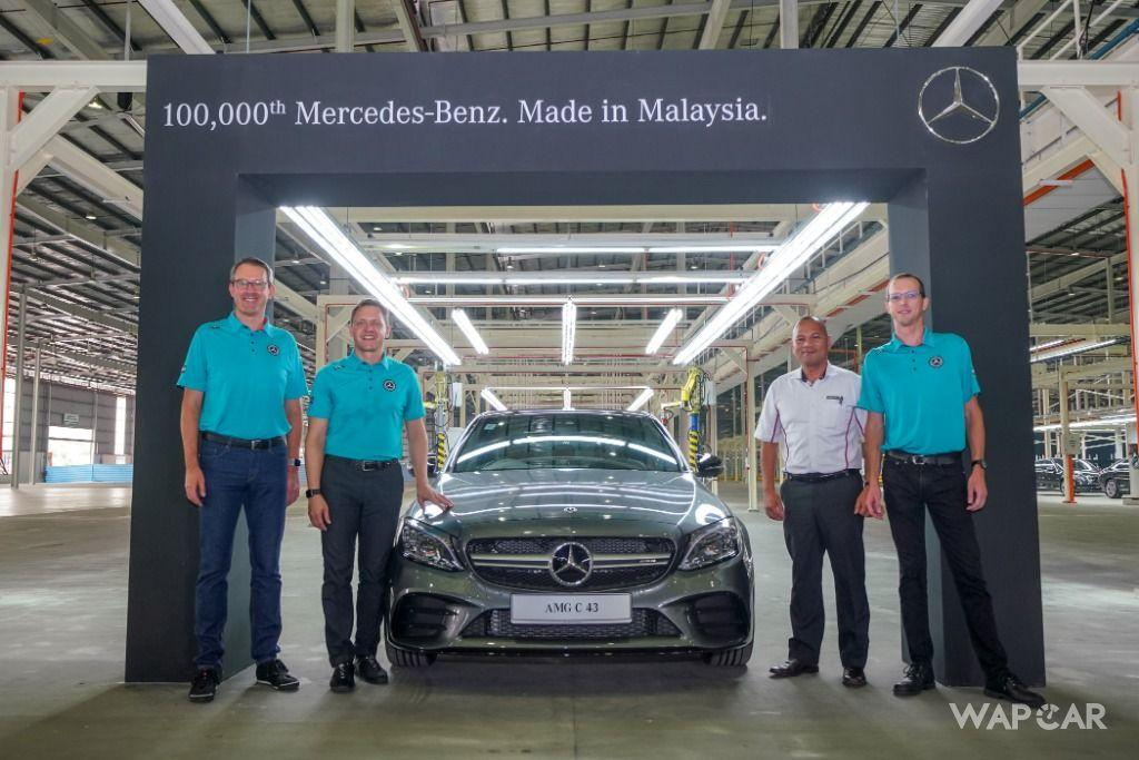 Mercedes-Benz Malaysia Commemorates 15 Years Of Production At Pekan Plant 01