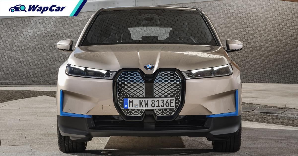 2021 BMW iX is an X5-sized EV with 600 km range, 500 PS, and a massive grille that it doesn't need 01