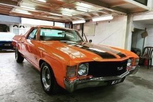 Barang Rare: Chevrolet El Camino 1972, pikap sasa dari Detroit!
