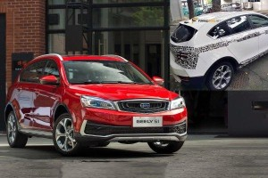 Spied: Geely Vision S1 crossover in Malaysia, Proton to test 1.4L turbo & CVT?