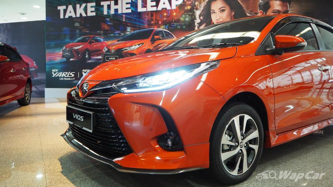 2021 Toyota Vios 1.5G Exterior 007