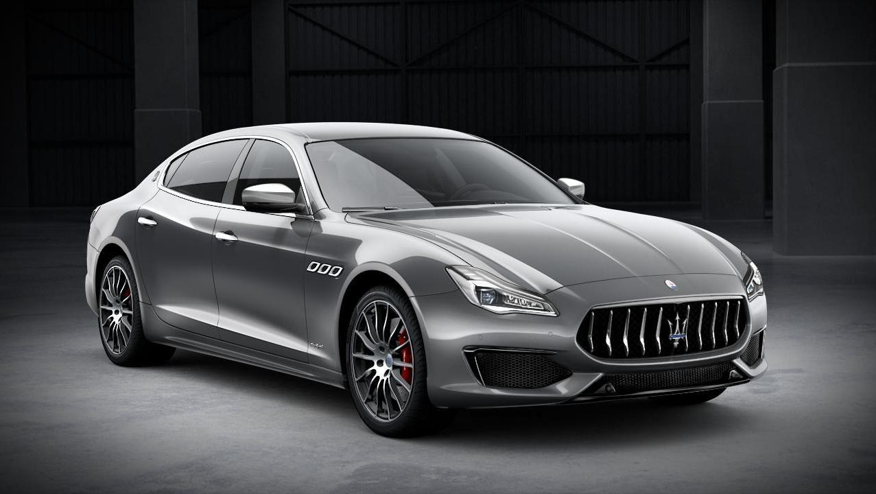 2019 Maserati Quattroporte GranSport Exterior 001