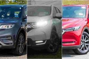 Proton X70 CKD vs Honda CR-V vs Mazda CX-5 - Which one should you buy