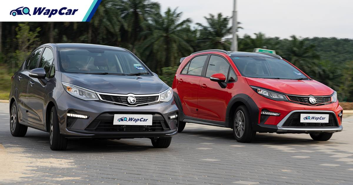 We've tested the new 2022 Proton Iriz and Persona's fuel efficiency, better than before? 01