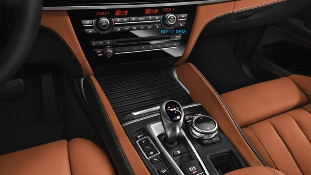 BMW X6 M (2019) Interior 003