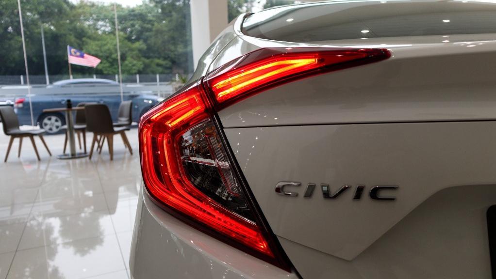 2018 Honda Civic 1.5TC Premium Exterior 028