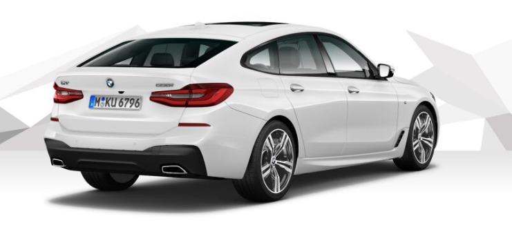 BMW 6 Series GT (2019) Exterior 005