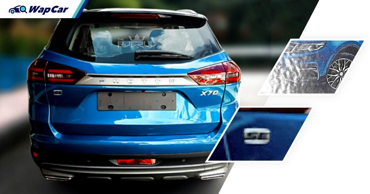 Leaked: First clear look at 2021 Proton X70 SE with new Ocean Blue colour 01