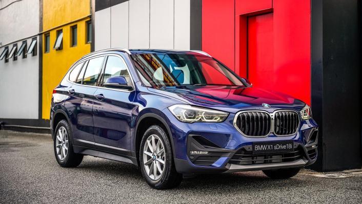 2020 BMW X1 sDrive18i Exterior 003