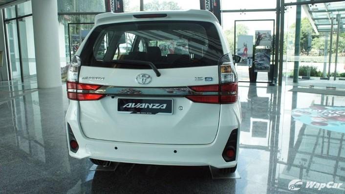 2019 Toyota Avanza 1.5S Exterior 007