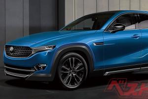 采用后驱的2023 Mazda CX-50,将直接对标BMW X4和Mercedes GLC Coupe