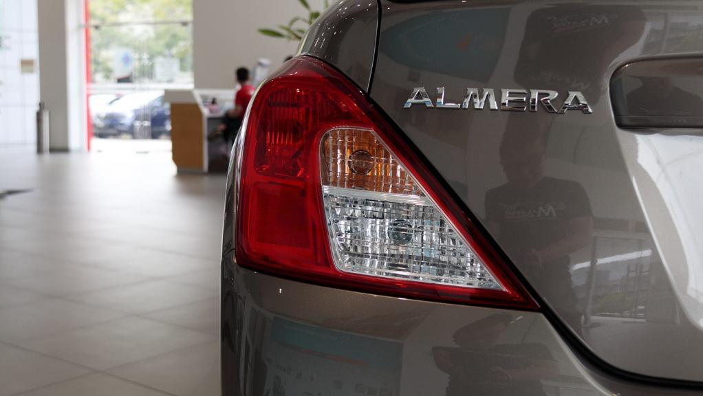 2018 Nissan Almera 1.5L VL AT Exterior 012