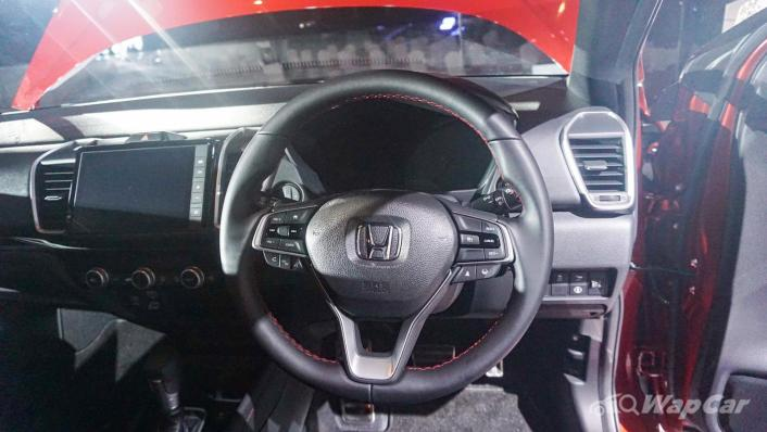2020 Honda City RS 1.5 Hybrid Interior 006