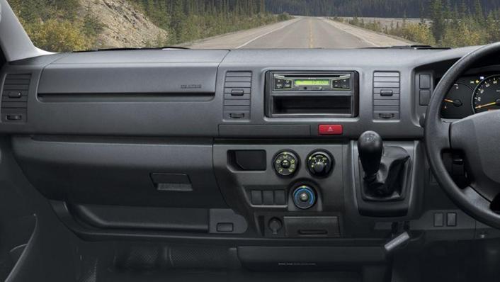 Toyota Hiace (2018) Interior 001