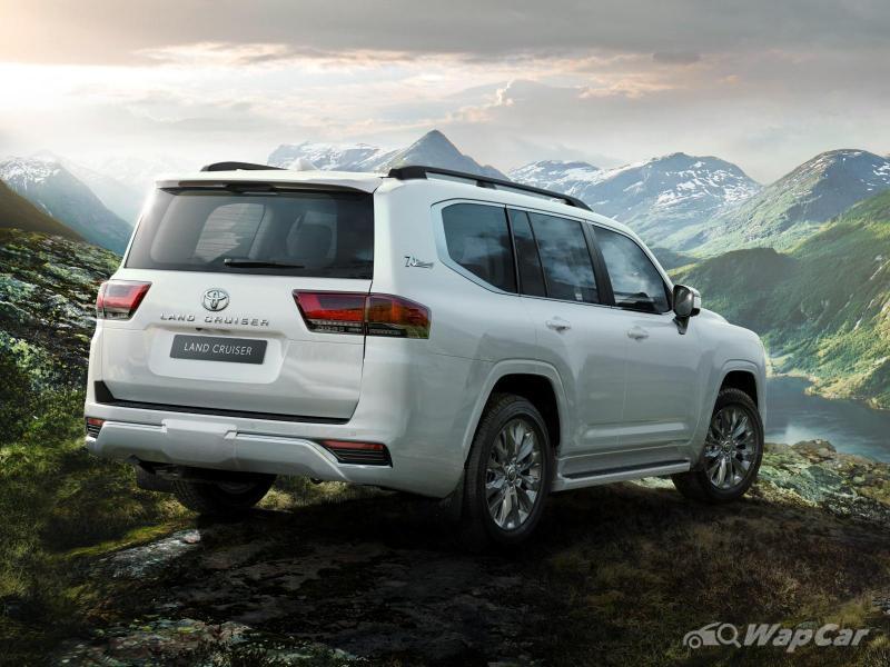 Penangan Toyota Land Cruiser 300 baru, 4 tahun tempoh menunggu sampai tempahan tergendala! 02