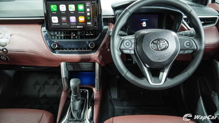 2020 Toyota Corolla Cross Interior 006