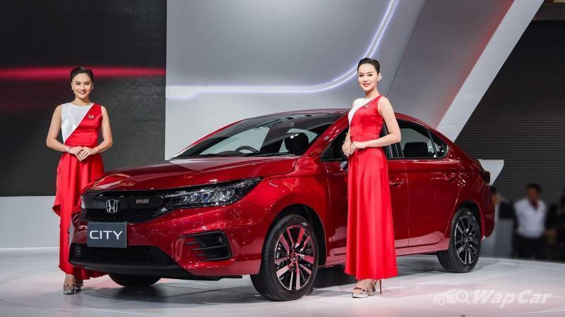 Honda acah imej lampu baharu Honda City 2020 serba baru 02