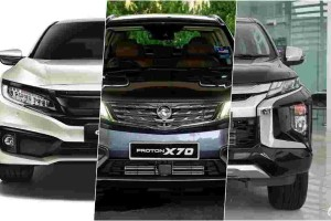 2020 Honda Civic vs Proton X70 vs Mitsubishi Triton - Similar prices, different characters, which is best for you?