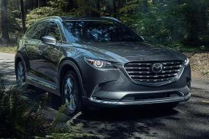 Mazda CX-9 updated in the USA; New second-row captain seats, 9-inch infotainment
