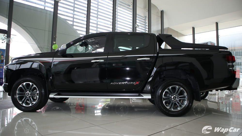 2019 Mitsubishi Triton VGT Adventure X Exterior 005
