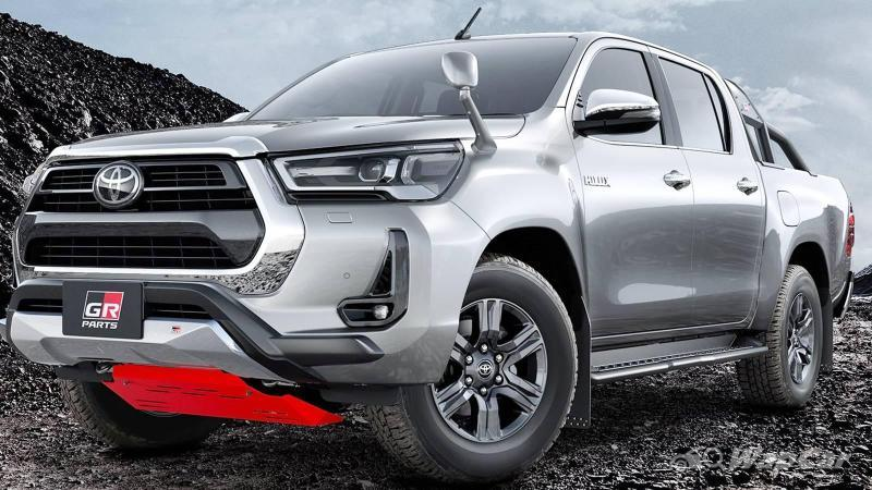Toyota GR Hilux and GR Fortuner to arrive in 2023? V6, 271 PS, 650 Nm 02