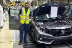 This is the last UK-made Honda Civic, production heads back to Japan