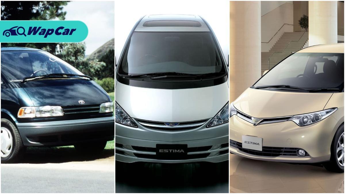 Sejarah Toyota Estima: MPV yang memulakan kehangatan kereta keluarga 01