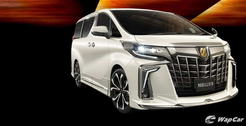 Toyota Vellfire gets 'Goldeneye' treatment, Alphard gets gold badge – coming soon at your local recond dealer? 02