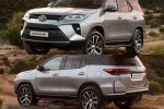New 2020 Toyota Fortuner facelift rendered