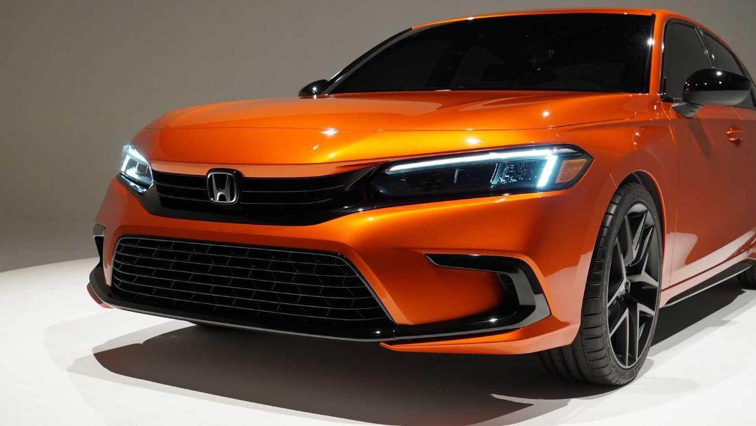 2021 Honda Civic International Version Exterior 007