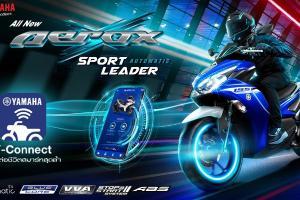 Tiba giliran Thailand lancar Yamaha Aerox 2021 (NVX), harga bermula RM9,125