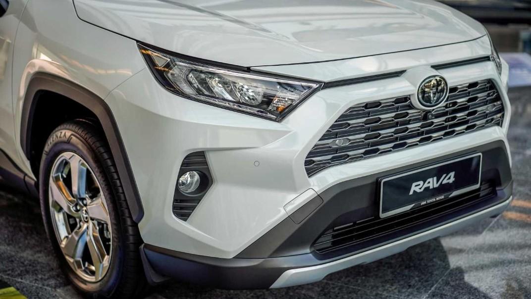 2020 Toyota RAV4 2.5L Exterior 041