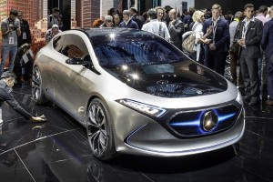 Mercedes-Benz confirms production EQA to be based on a GLA-Class, plug-in hybrid variants to come