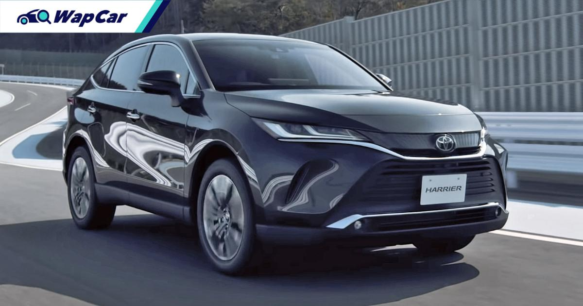 All-new 2021 Toyota Harrier launching in Malaysia next year, this or the RAV4? 01